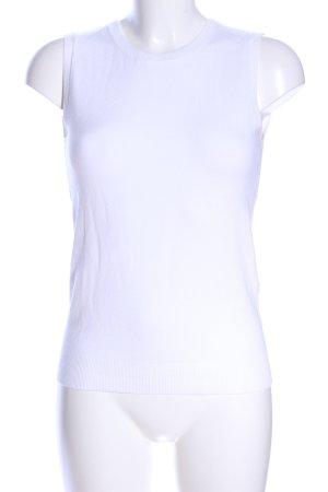 Zara Fijn gebreide cardigan wit casual uitstraling