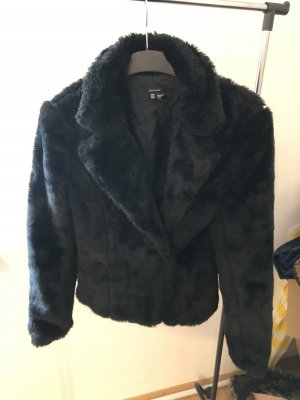 Zara Fur Jacket black