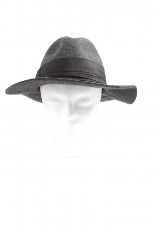 Zara Felt Hat light grey casual look
