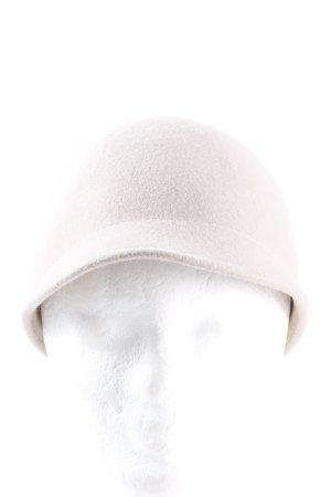 Zara Felt Hat natural white casual look