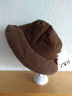 Zara Bob brun coton