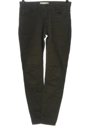 Zara Five-Pocket-Hose khaki Casual-Look