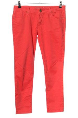 Zara Five-Pocket-Hose rot Casual-Look