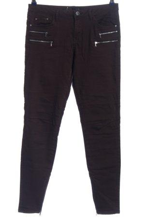 Zara Pantalone cinque tasche nero stile casual