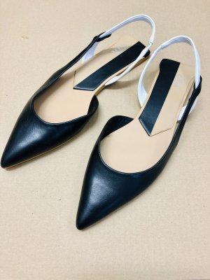 Zara flache Schuhe