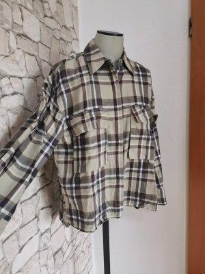 Zara Flanell Hemd xs oversize überhemd np 29.90€