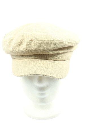 Zara Flat Cap cream casual look
