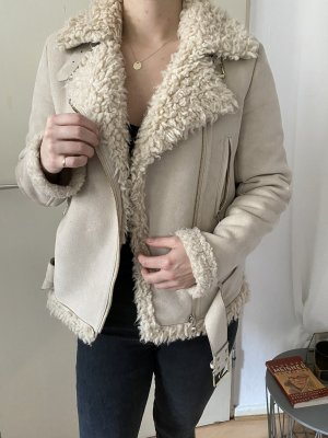 Zara flauschig Winter Jacke /'S