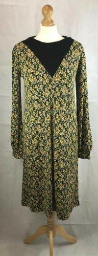 Zara Floral Kleid mit Strick Gr. M neu mit Etikett