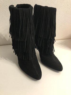 Zara Basic Western Booties black