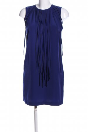Zara Fringed Dress blue casual look