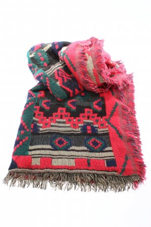 Zara Fringed Scarf allover print casual look