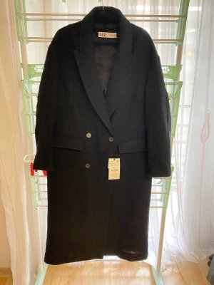 Zara Manteau oversized noir