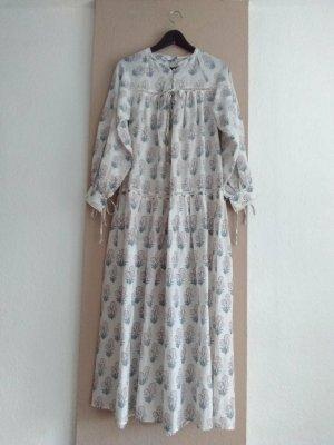 Zara gemustertes Midikleid mit Blumenprint aus 100% Baumwolle, Größe S oversize, neu