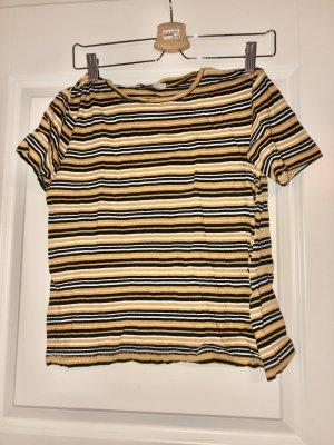Zara gestreiftes T-Shirt
