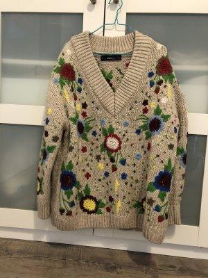 Zara gestrickt Pullover