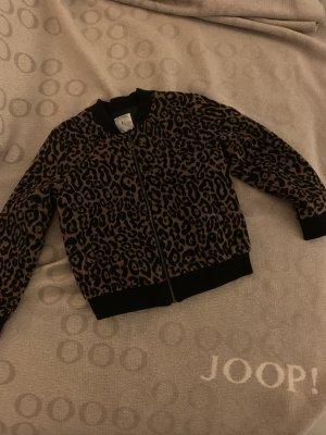 Zara Giacca di pelliccia marrone-nero