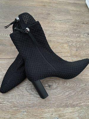 Zara Gitterstoff Stiefelette,Gr 36
