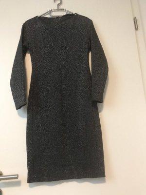 Zara Robe à manches longues gris-argenté