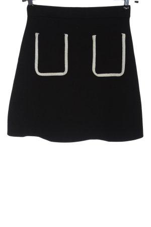 Zara Glockenrock schwarz-weiß Casual-Look