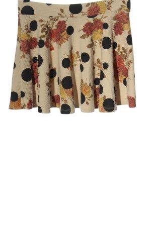 Zara Flared Skirt allover print elegant