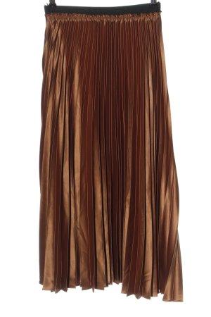 Zara Glockenrock bronzefarben Elegant