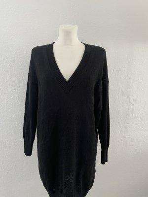 Zara gr M Pulloverkleid Strick schwarz