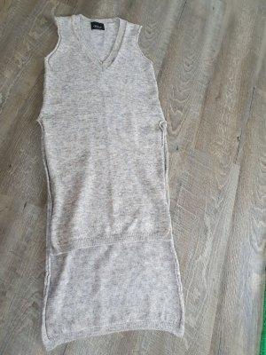 Zara Knit Knitted Vest oatmeal-beige