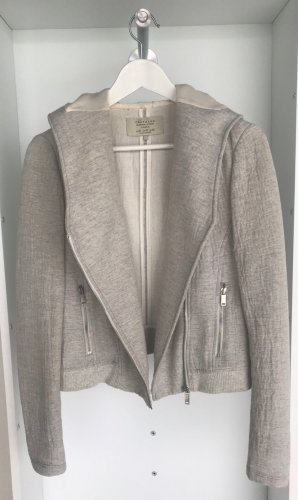 Zara - Graue Jacke mit Kapuze