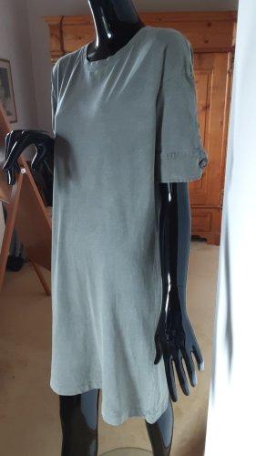 Zara, graugrünes Kleid, Gr. S