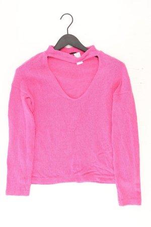 Zara Sweter z grubej dzianiny jasny różowy-różowy-różowy-różowy neonowy