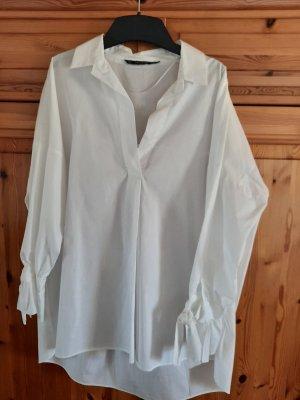 Zara große Bluse mit Schleifchen am Arm