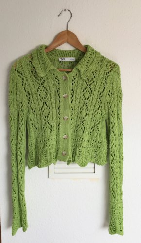 Zara Crochet Cardigan multicolored