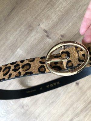 Zara Faux Leather Belt multicolored