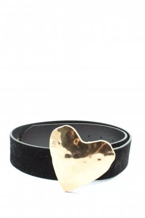Zara Belt Buckle black-gold-colored casual look