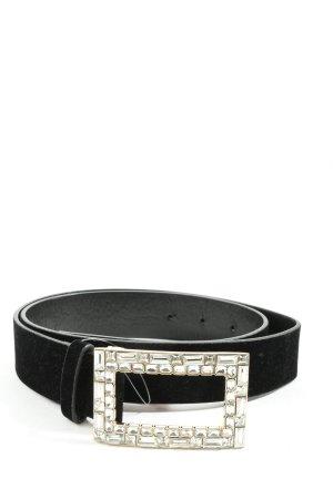 Zara Hebilla del cinturón negro estilo «business»
