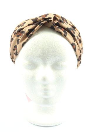 Zara Haarband Leomuster Casual-Look