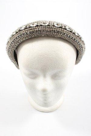 Zara Haarband schwarz-silberfarben Elegant