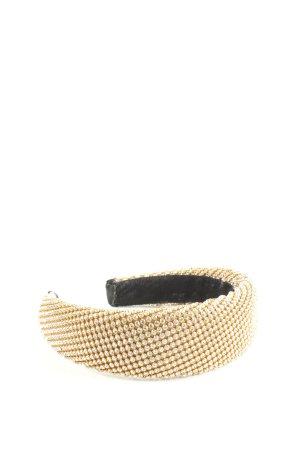 Zara Serre-tête crème-noir style décontracté