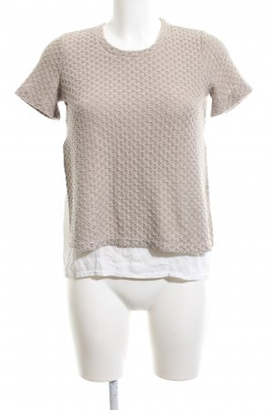Zara Crochet Shirt white-natural white casual look