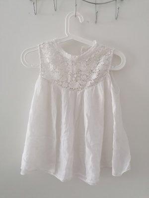 Zara Crochet Shirt white