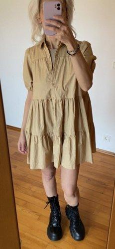 ZARA Hänger Kleid gr S beige nude neu mit Etikett