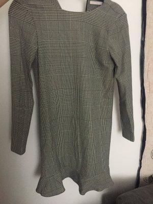 Zara Hahnentritt-Muster Kleid