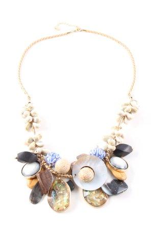 Zara Halskette mehrfarbig Casual-Look