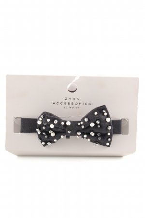 Zara Collar negro brillante