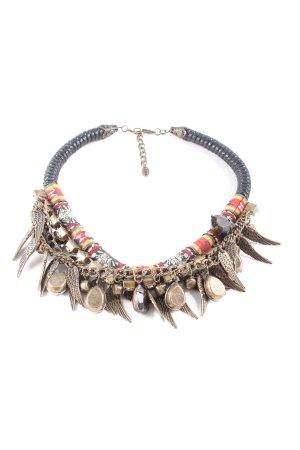 Zara Halskette mehrfarbig Elegant