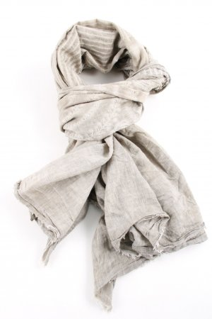 Zara Foulard gris clair moucheté style décontracté