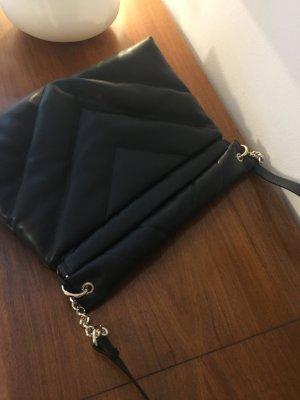ZARA Handtasche Clutch schwarz - Wie neu!