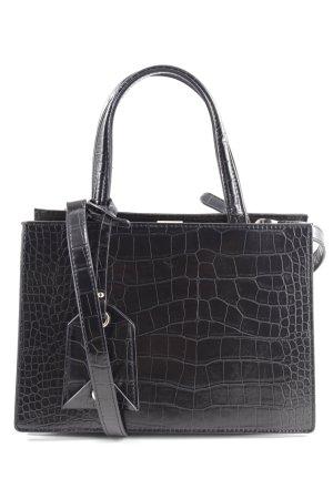 Zara Handtasche schwarz Business-Look