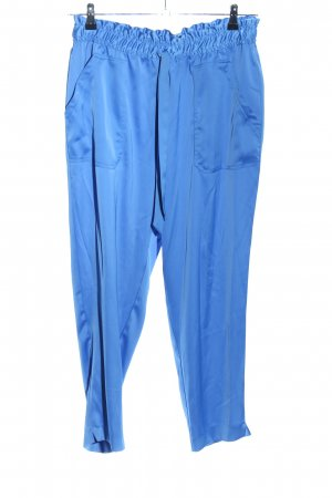 Zara Pantalón estilo Harem azul look casual
